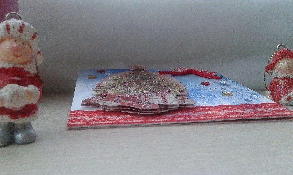 carte chevalet pour noël