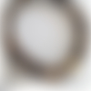 Bracelet homme en perles oeil de tigre et bouddha