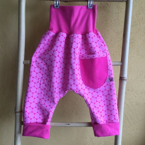 Sarouel fille, softshell, 3 ans