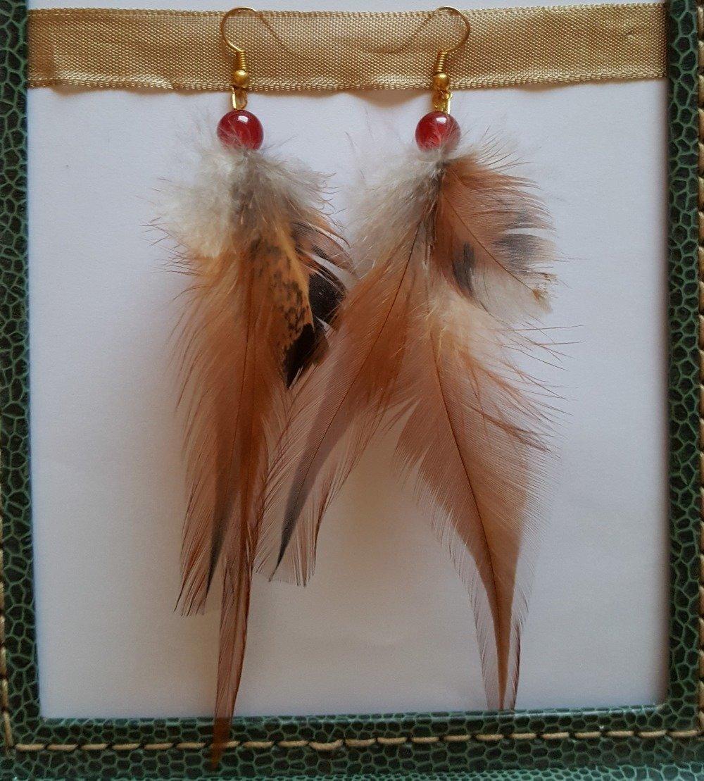 Boucles d'oreille originales - Légèreté