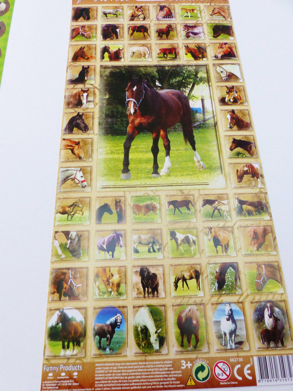 autocollant cheval, stickers chevaux