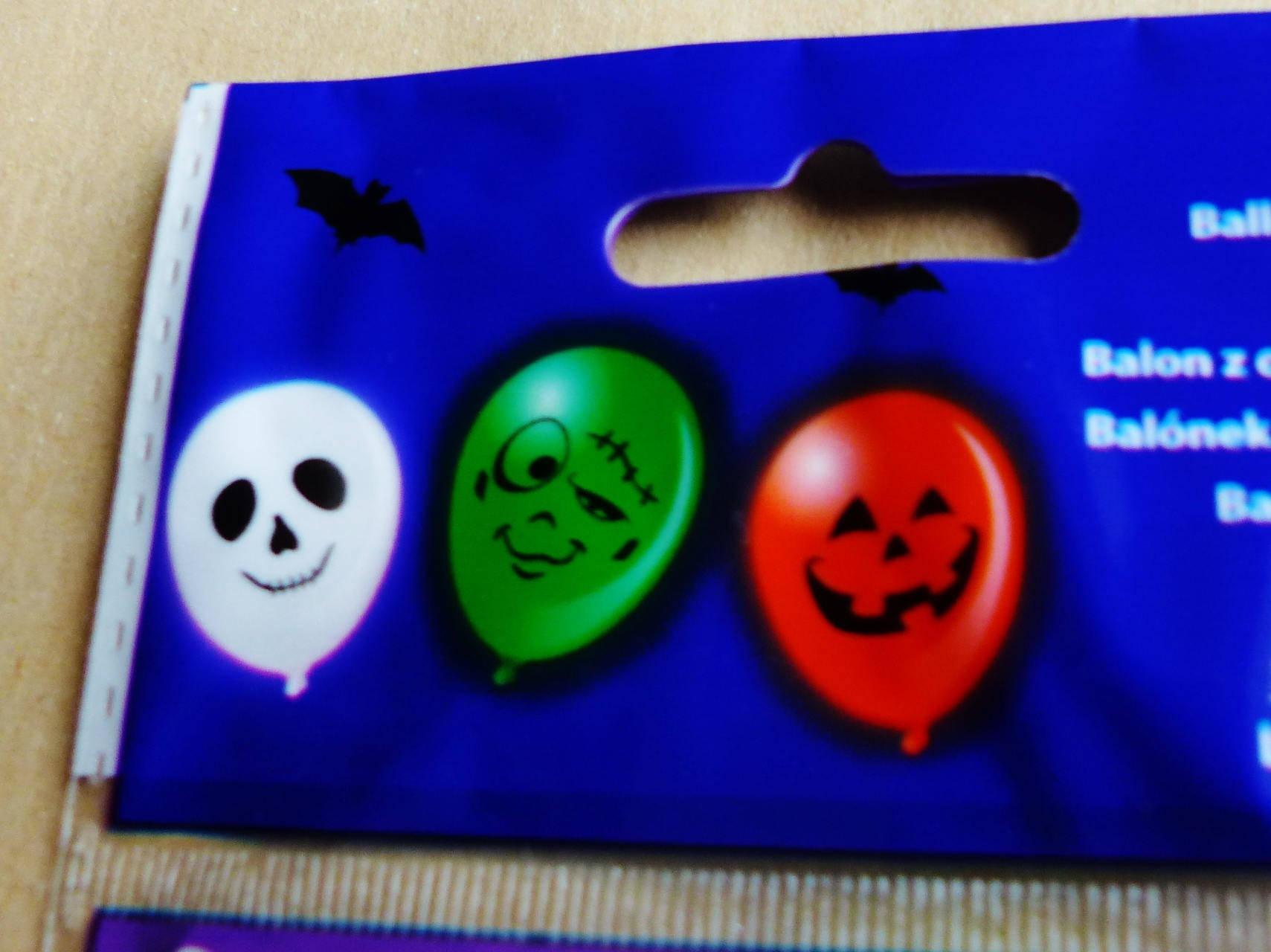 Halloween 3 ballons éclairé par des lumières led citrouille fantome  monstre ballon lumineux fêtes party