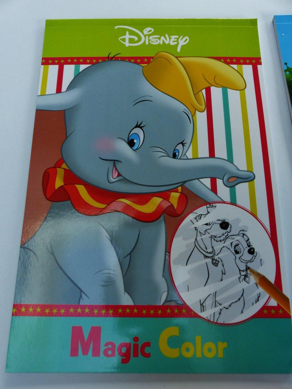 Personnages Disney Dessin Magique à Découvrir En Passant Un Crayon Sur La Feuille