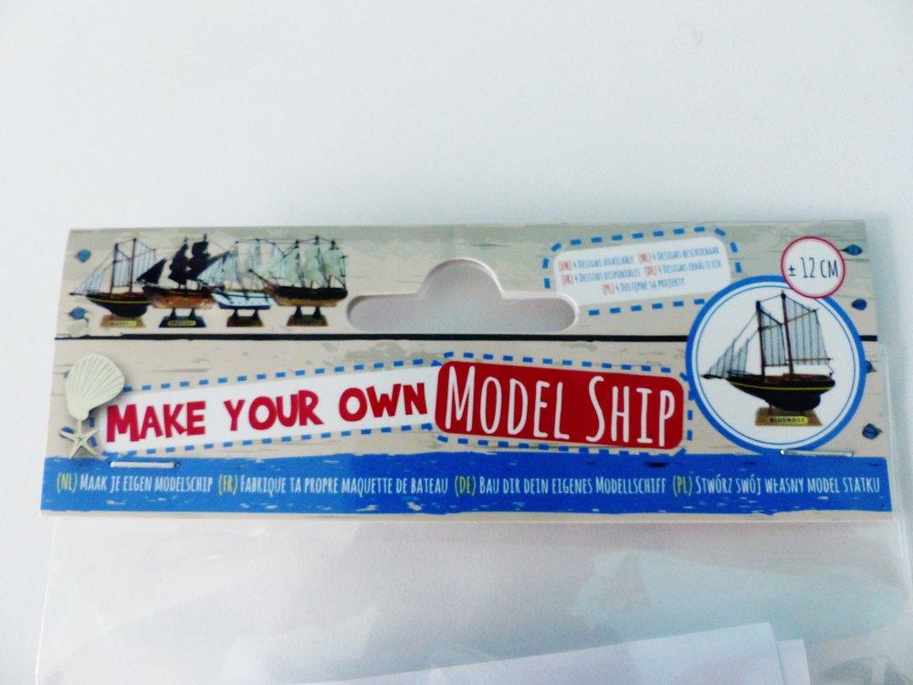 kit construction maquette de bateau, le Blue Nose