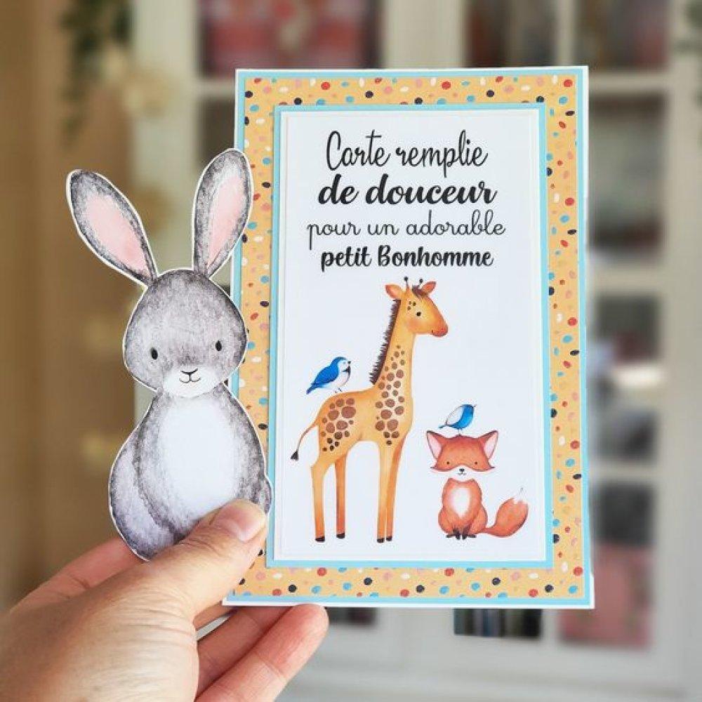 Carte papier Pour petit Bonhomme