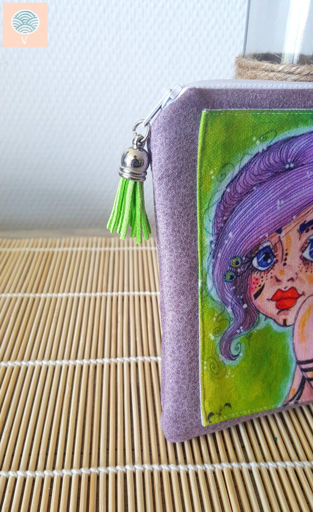 """Pochette """"Clochette"""" 13 x 18 cm"""