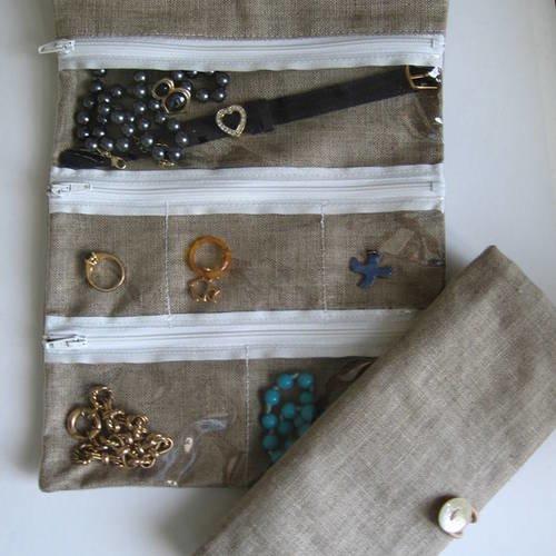 Trousse range bijoux