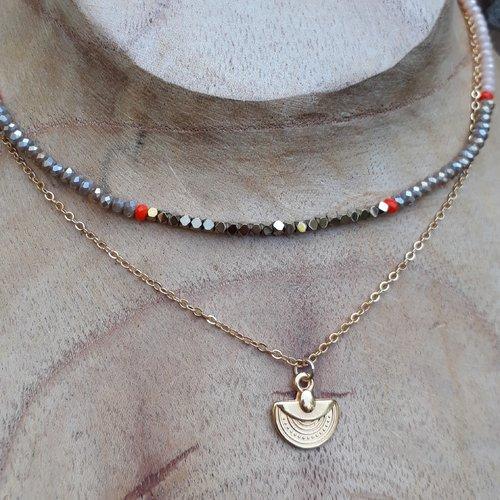collier femme couleurs