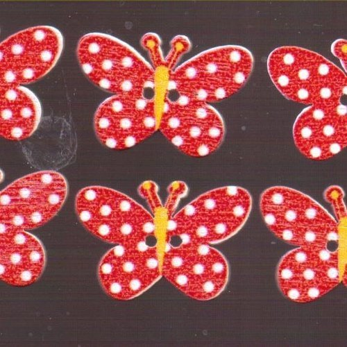 10 Mixte en Bois Poisson Craft Sewing Boutons//embellissement 27 mm-SCRAPBOOK-Cartes