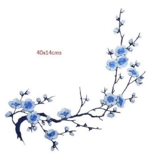 Branche  fleur de cerisier applique thermocollant