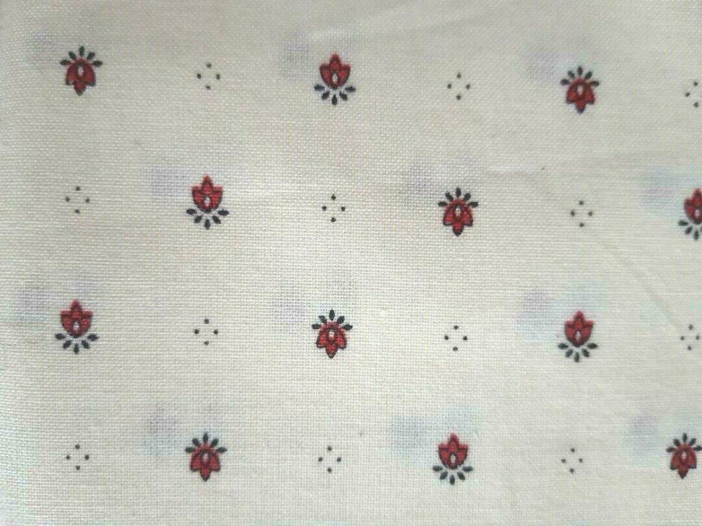 TISSU COTON PATCHWORK 100 x 20 cms