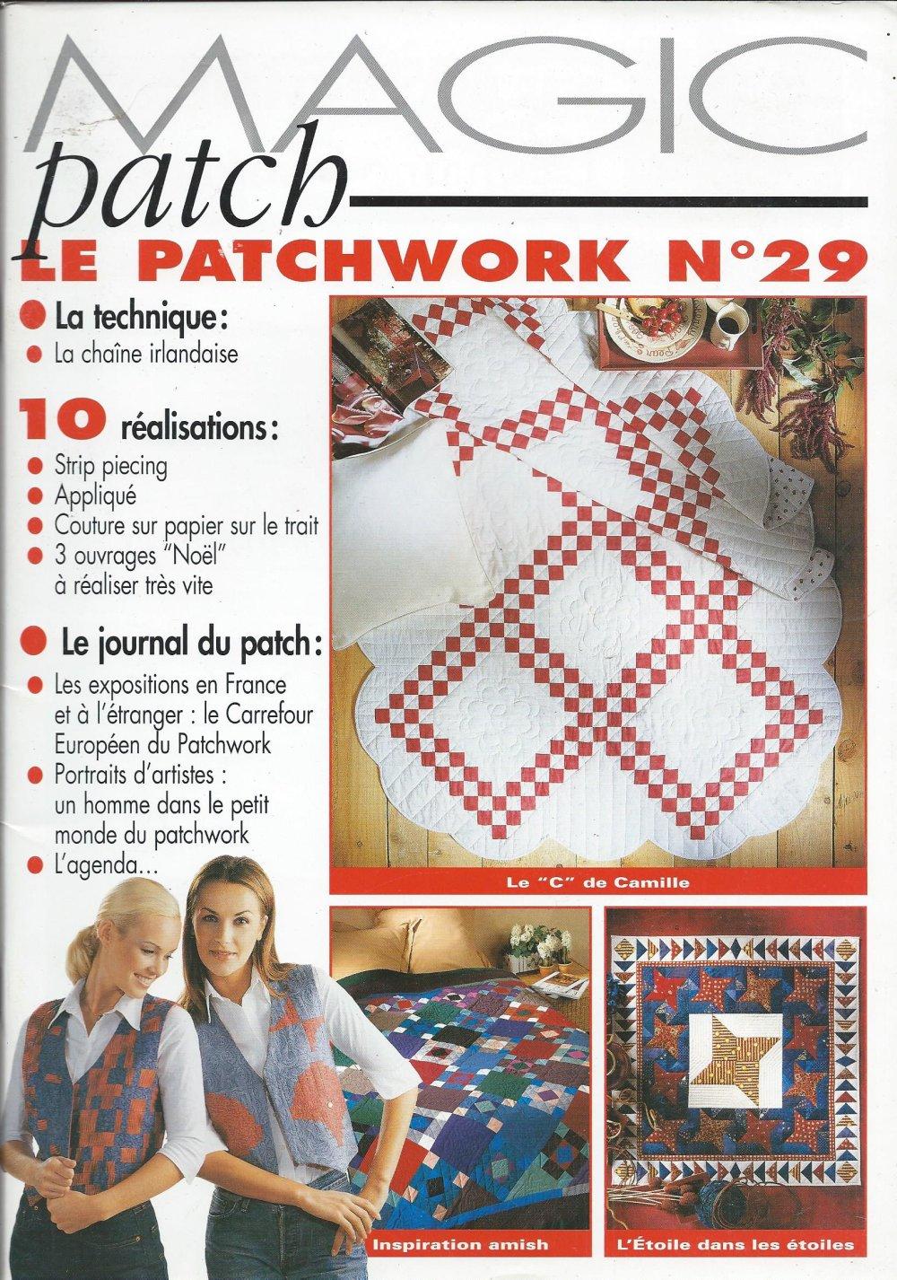 Magic patch le patchwork n°29 10 realisations noel