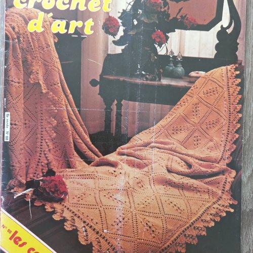 Catalogue le crochet d'art n° 88 avril 1981 les couvre- lits tout le tricot