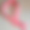 Fermeture éclair invisible 35 cm rose
