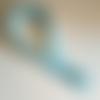 Fermeture éclair invisible 35 cm bleu lagon clair