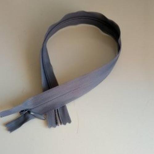 Fermeture éclair invisible 35 cm gris