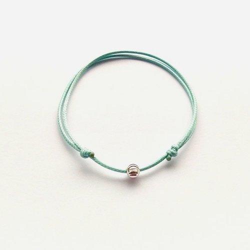 bracelet femme perle ajustable