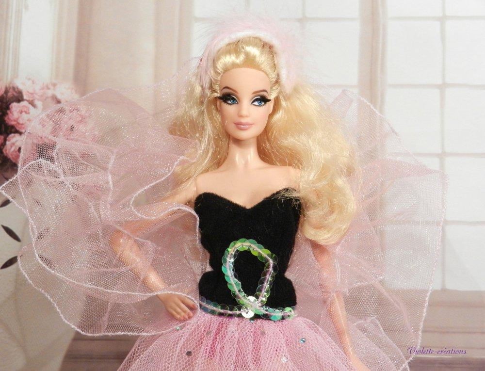 robe pour poupée barbie,vêtement pour poupée Barbie Silkstone Fashion Royalty Poppy Parker,fahionnitas, robe de soirée