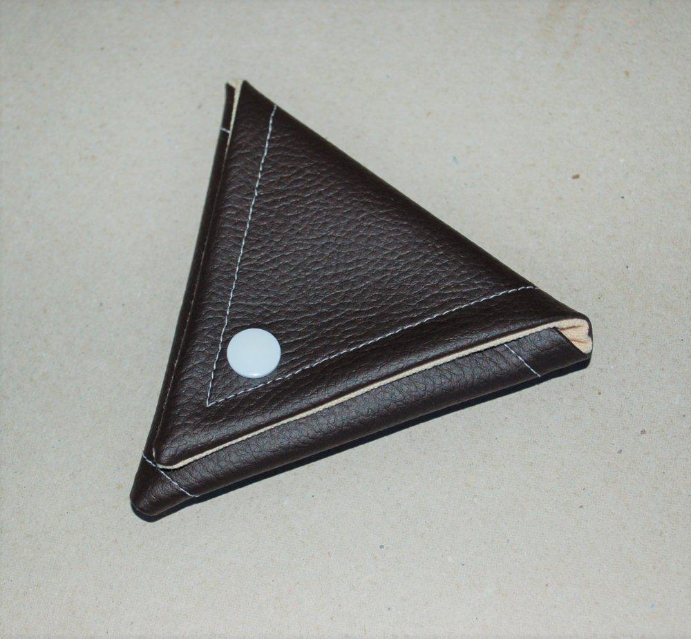Porte Monnaie triangle