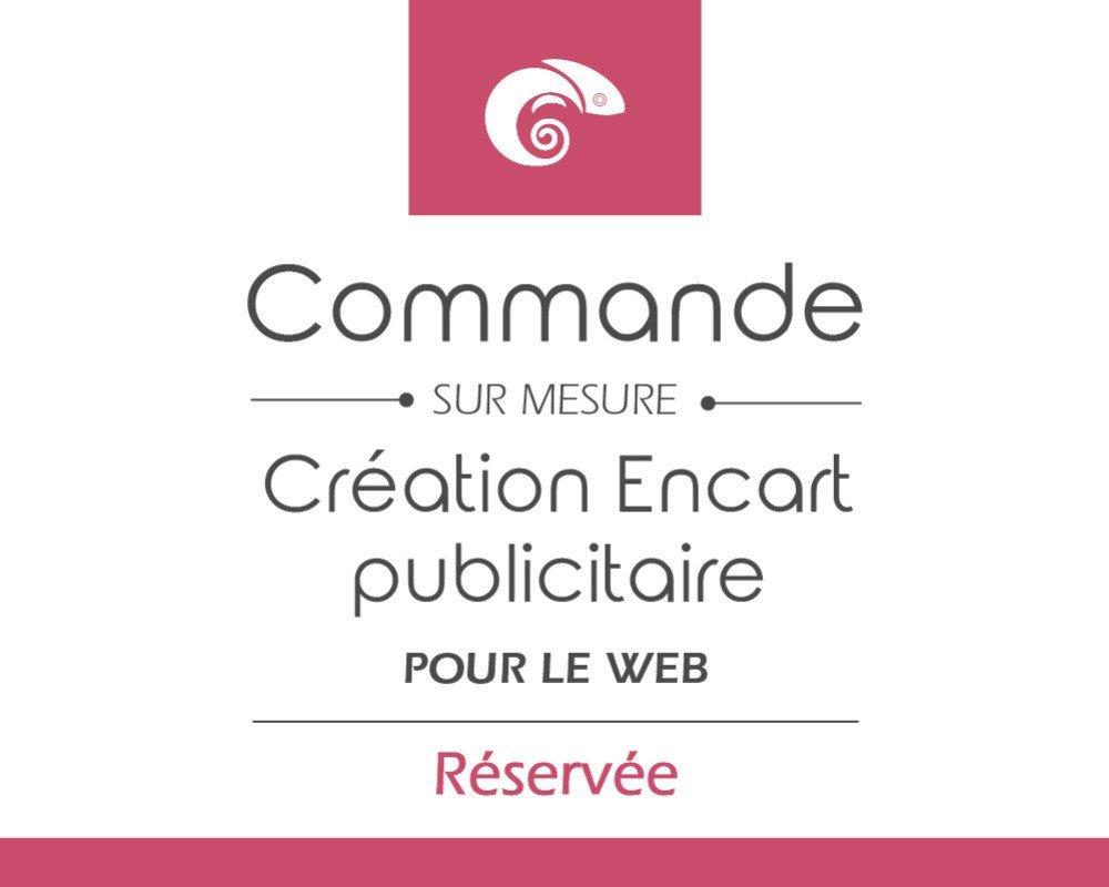 Encarts publicitaire pour le web - Réservé à Miam's