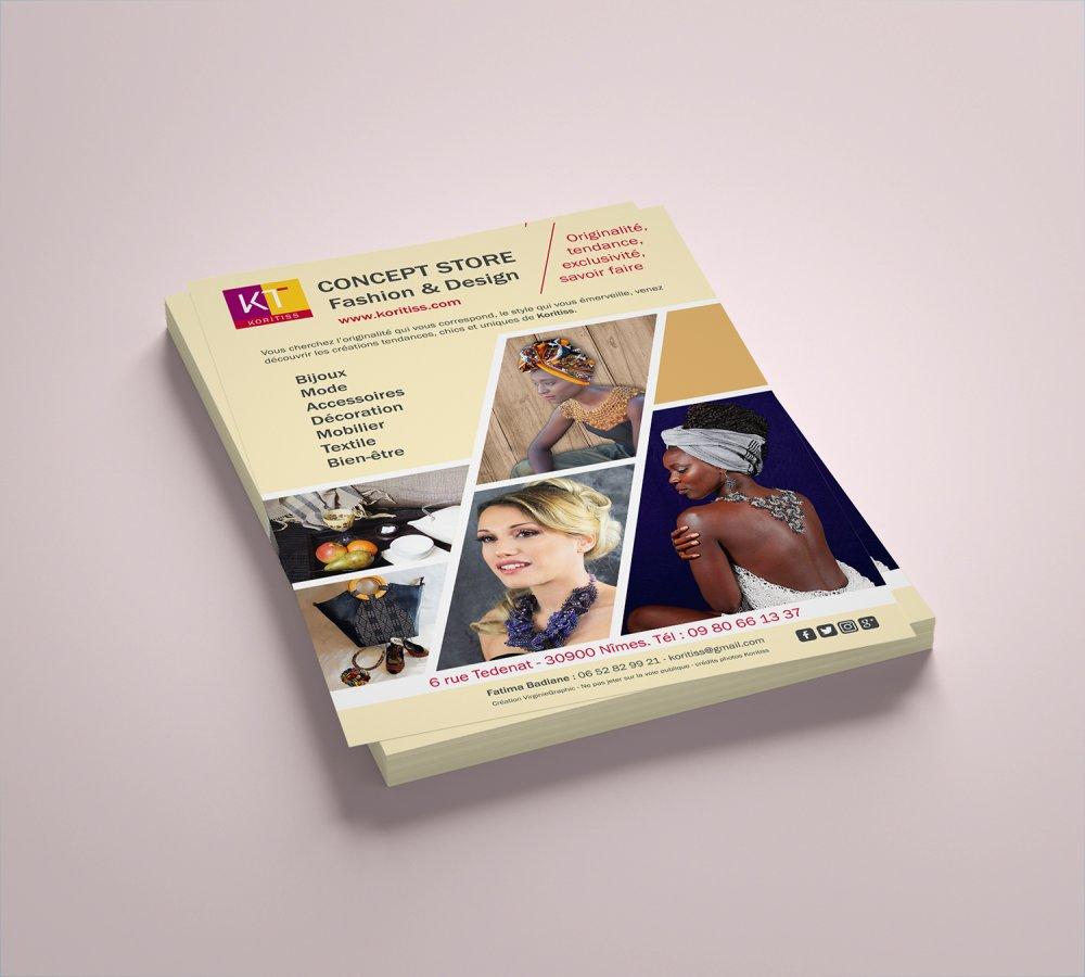 Création Flyer personnalisé Recto sur mesure pour votre communication