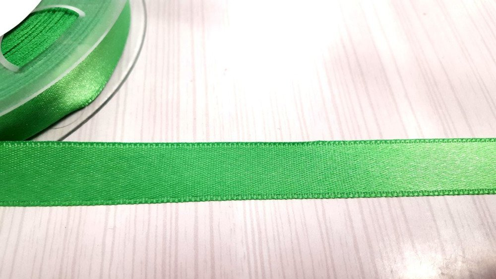 2m ruban satin 15mm vert double face - fillawant