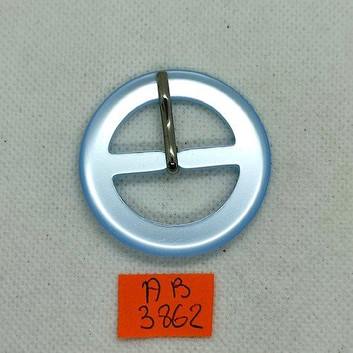 Boucle de ceinture en résine bleu clair - 45mm - ab3862