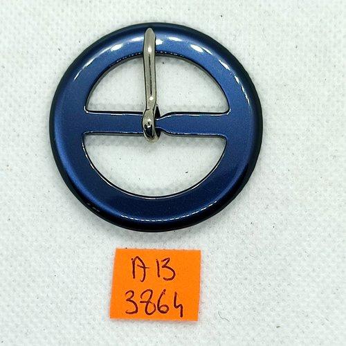 Boucle de ceinture en résine bleu nuit - 50mm - ab3864