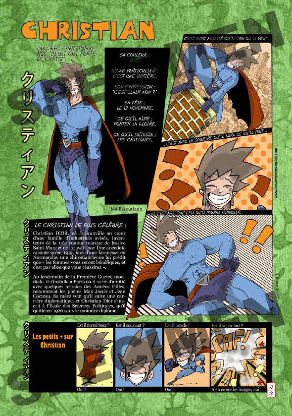 Prénom Manga Christian