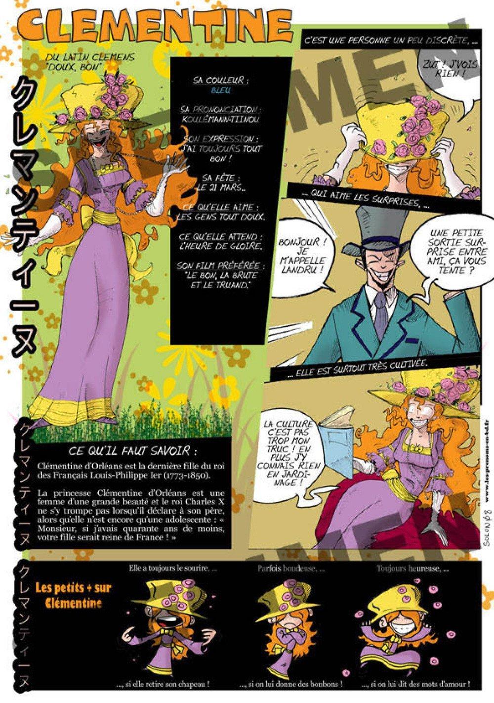 Prénom Manga Clémentine