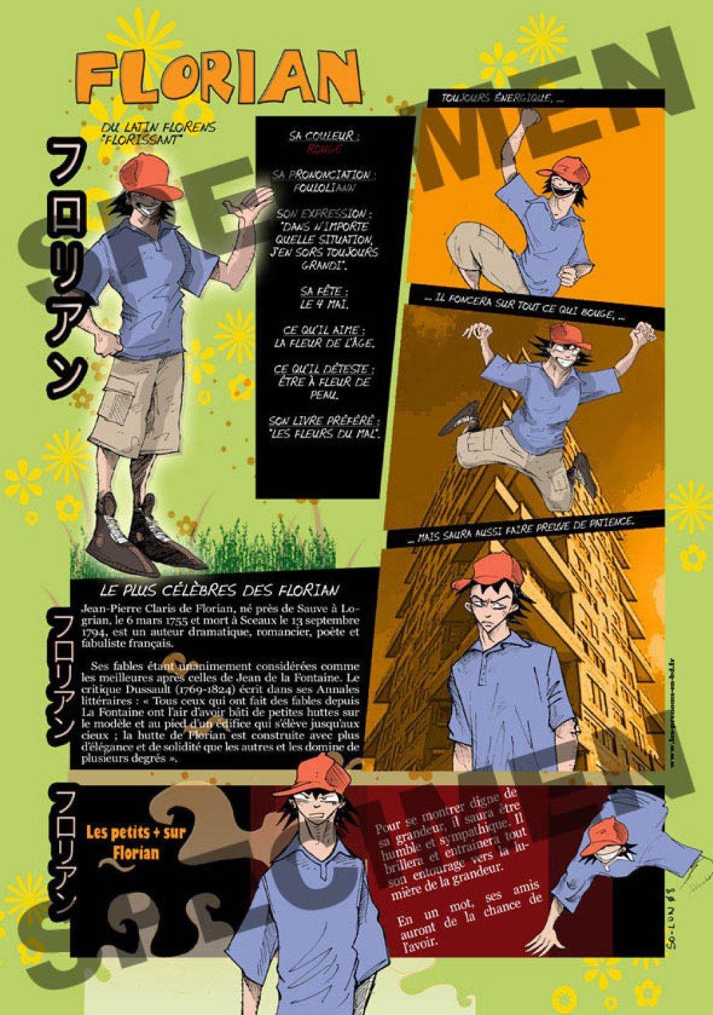 Prénom Manga Florian