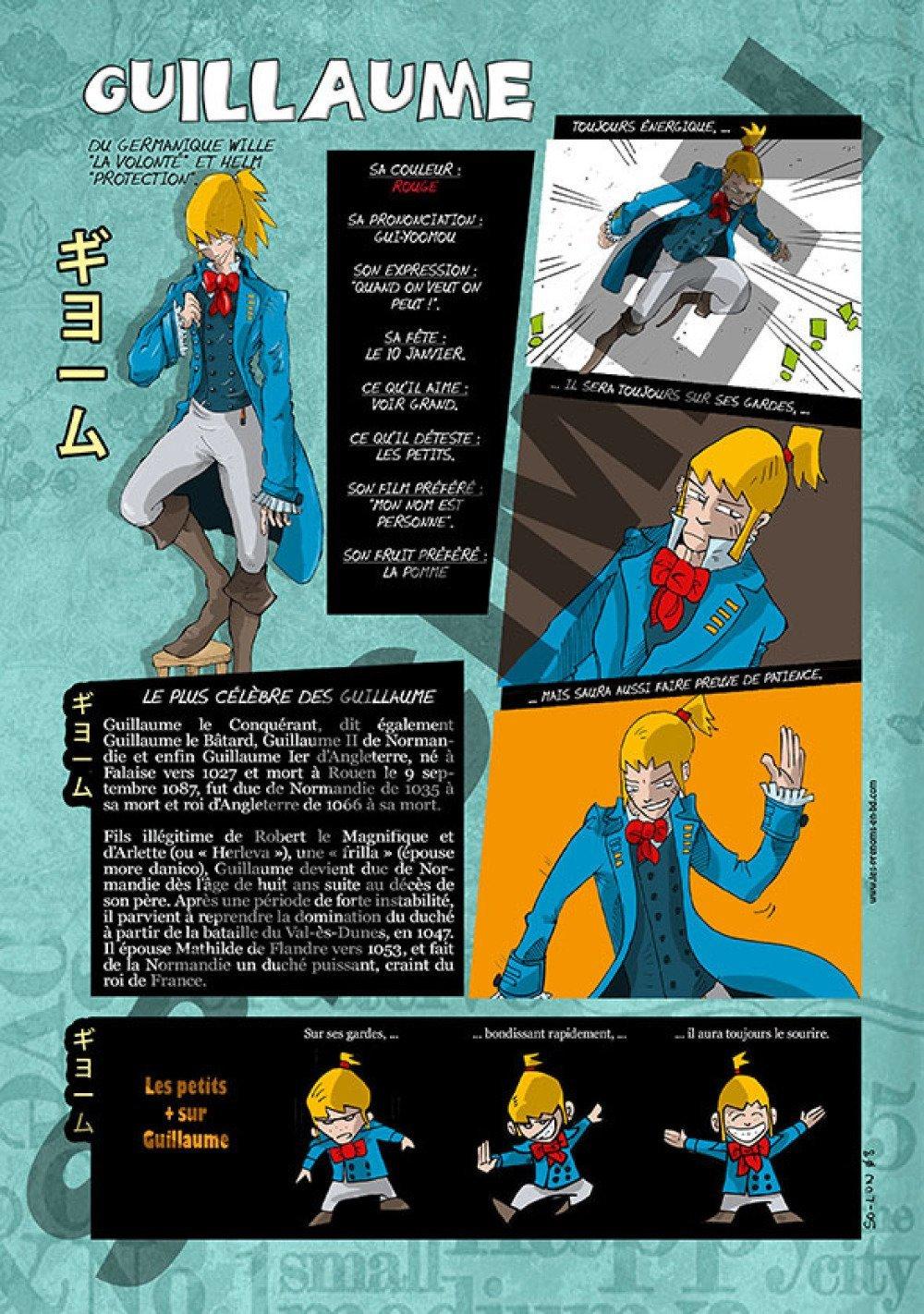 Prénom Manga Guillaume