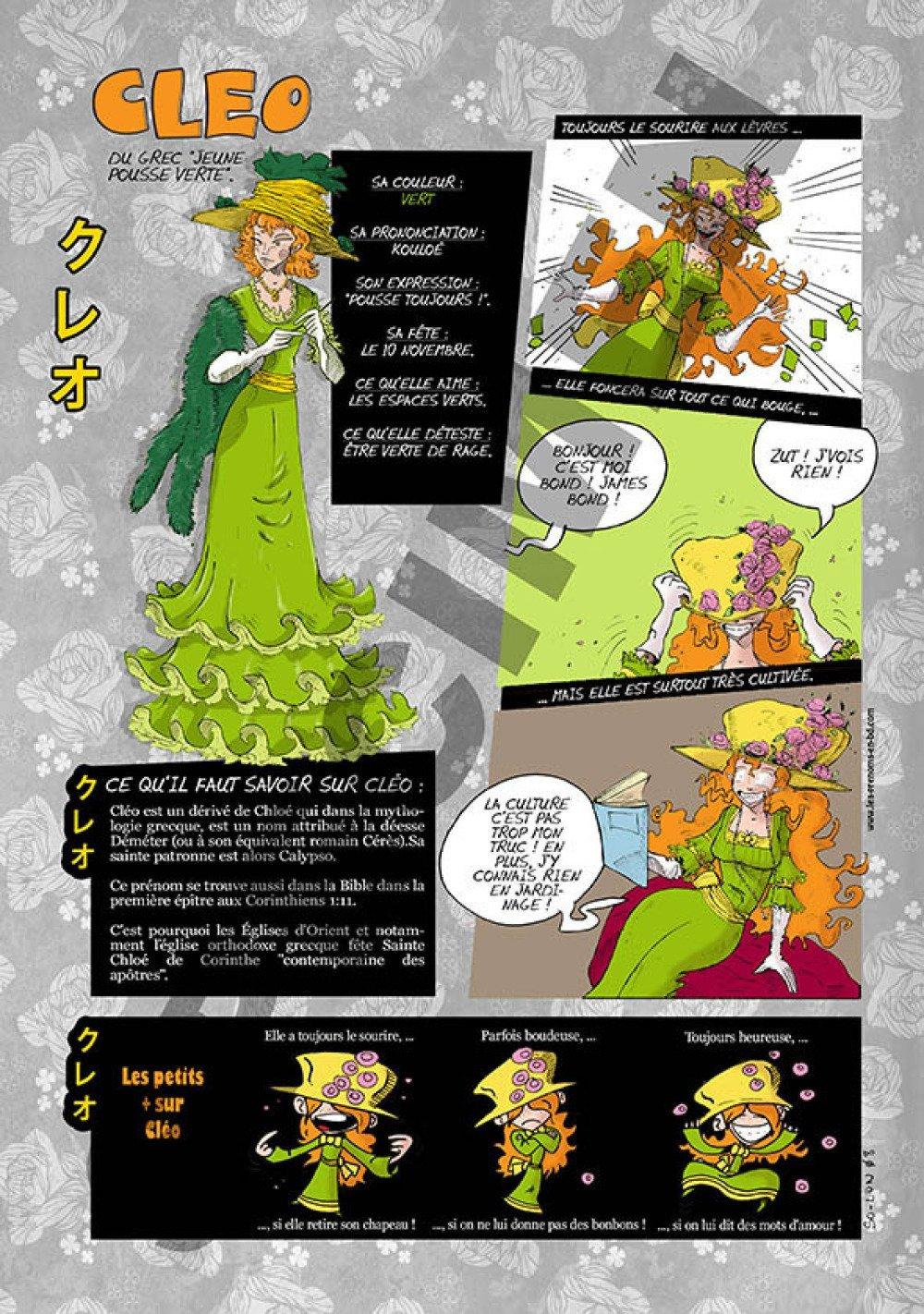 Prénom Manga Cléo