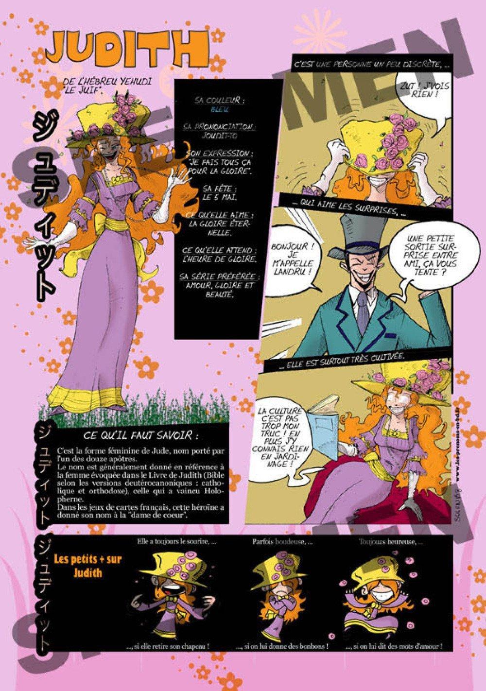 Prénom Manga Judith
