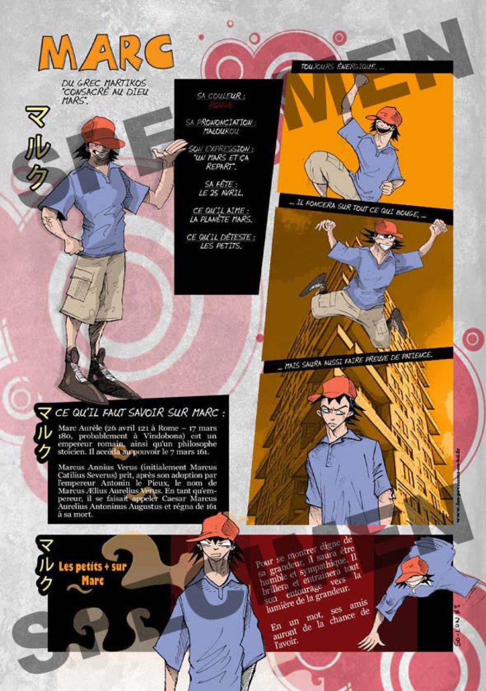 Prénom Manga Marc