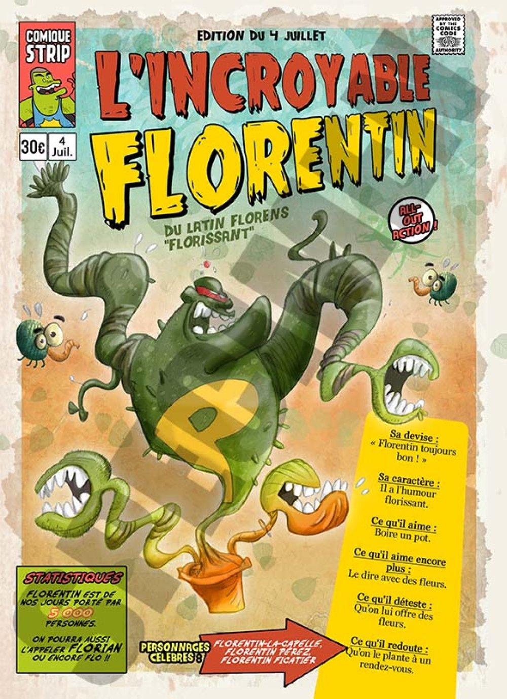 Prénom comics Florentin