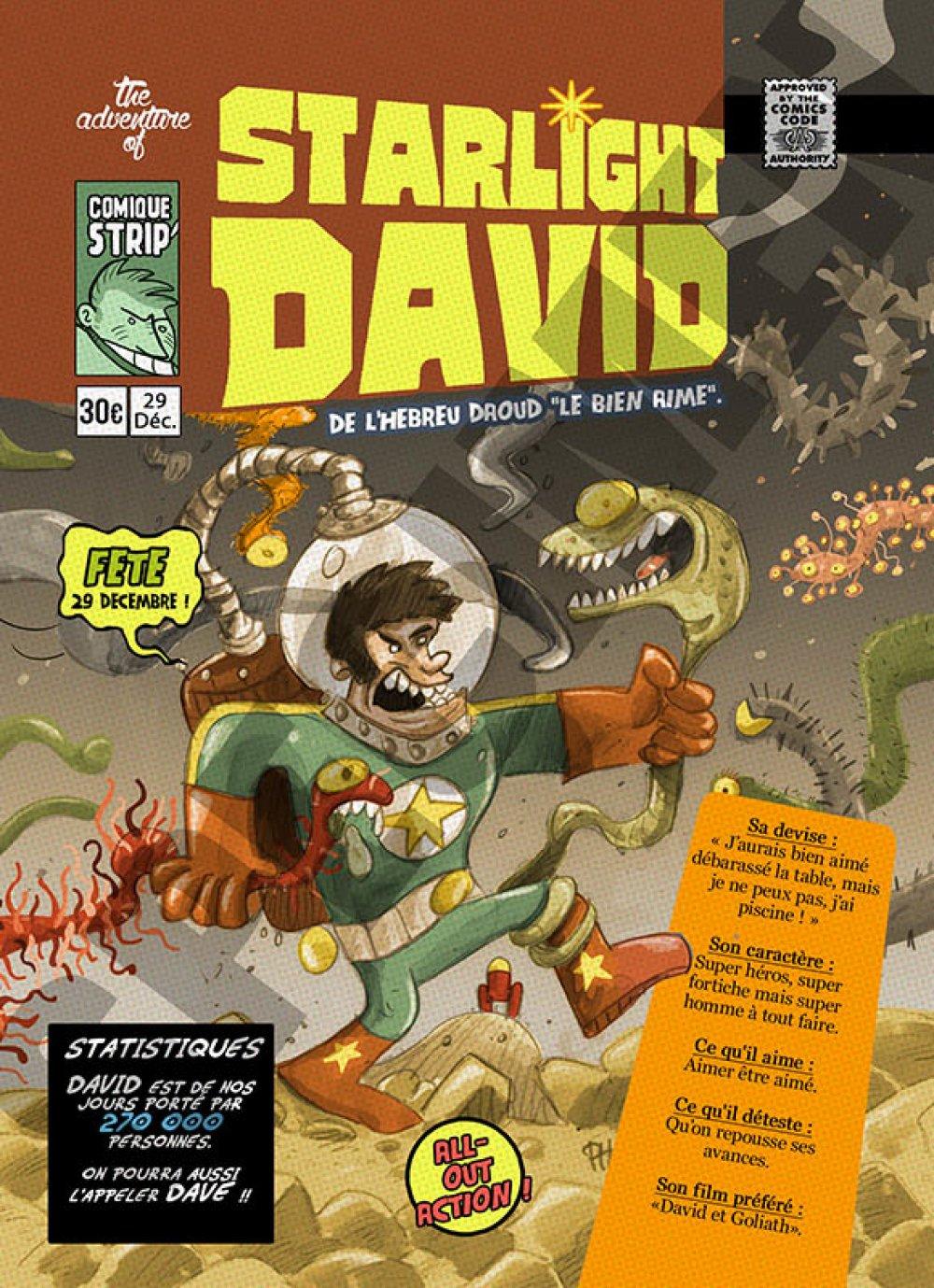 Prénom comics David