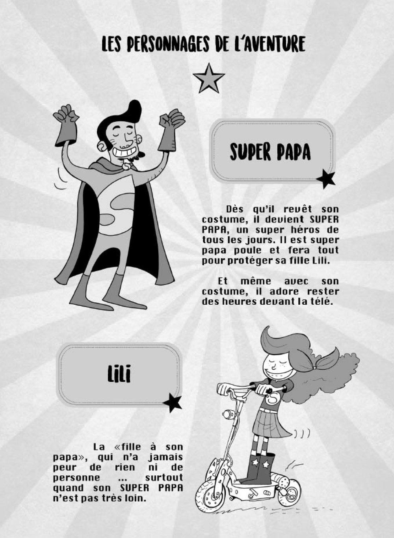 Super Papa remplace la maitresse