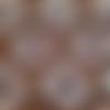"""Tissu wax - par 50 centimètres - motif """"congrès"""" - 100% coton - tissu africain - pagne"""