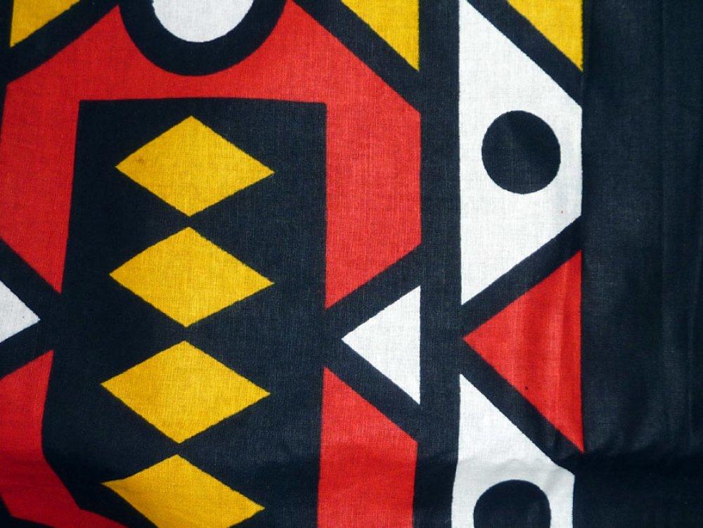 Duo de housses de Coussins en wax Afrique du Sud 40x40cm ou 30x45cm, Wax&Line