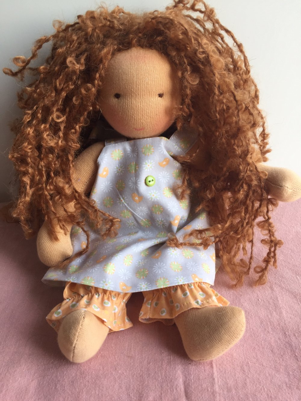 poupée style waldorf