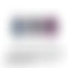 Image digitale numerique cabochon rond oval pendentif bleu pierre