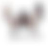 Images digitales cabochons bijoux chat noir blanc pois noeud tour eiffel paris