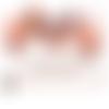 Médaillons digitales cabochons ronds et ovales*chat fillette automne*