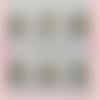 Collier en argent 925 / bouddha noeud menottes rosace médaille ailes d'ange