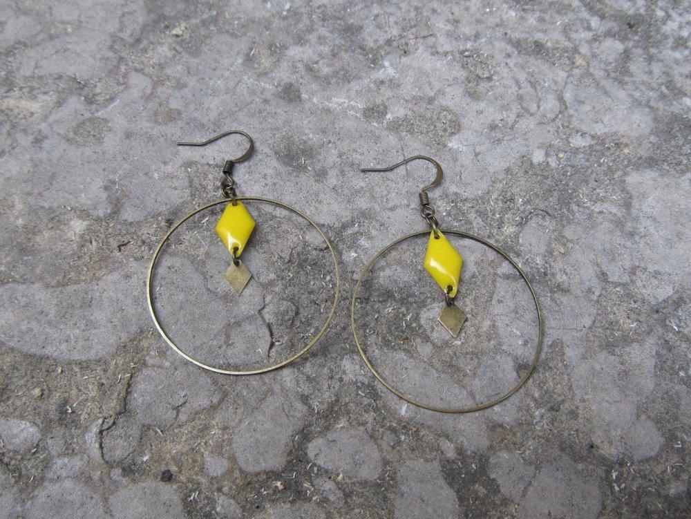 Boucles d'oreilles bohemes Maya