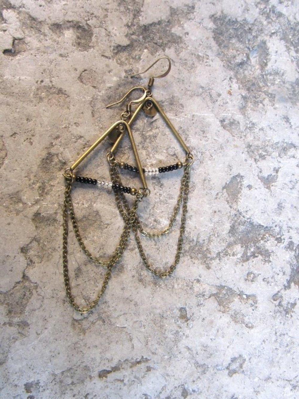 Boucles d'oreilles bohèmes Fjürd