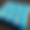 """Couverture au crochet - """"granny blue"""""""