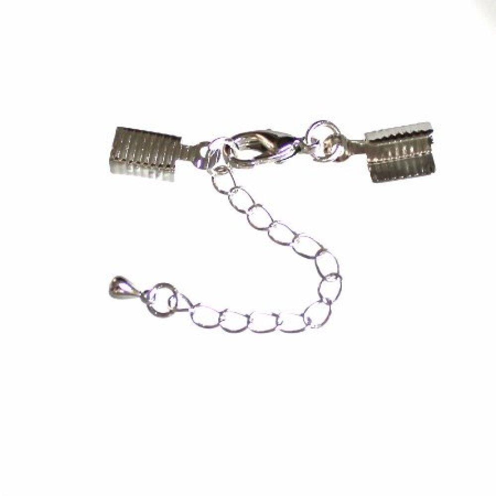 Boucles d/'oreilles longues en plaqué or guyanaise fines tiges fermoir chainette