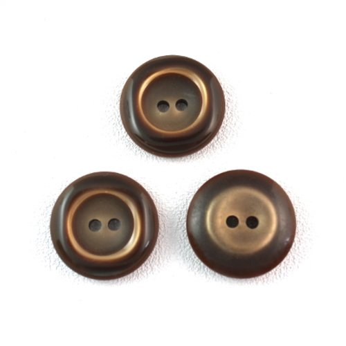 5 boutons synthétiques ancienne 27 mm